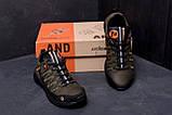 Мужские кожаные кроссовки Merrell Tracking (реплика), фото 7