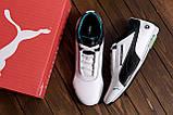 Мужские кожаные кроссовки Puma Mersedes Amg Petronas (реплика), фото 9