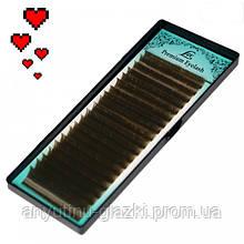 Ресницы LEX Dark Chocolate  D 0.07 (9мм)