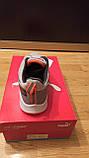 Кроссовки Nike серые сетка, фото 3