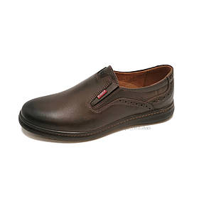 Туфли мужские Bumer 101 кожа коричневые