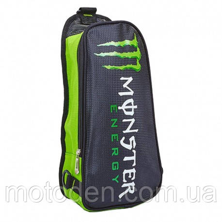 Сумка нагрудна через плече / рюкзак Monster energy 42х16х7 см