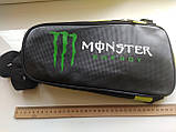 Сумка нагрудна через плече / рюкзак Monster energy 42х16х7 см, фото 8