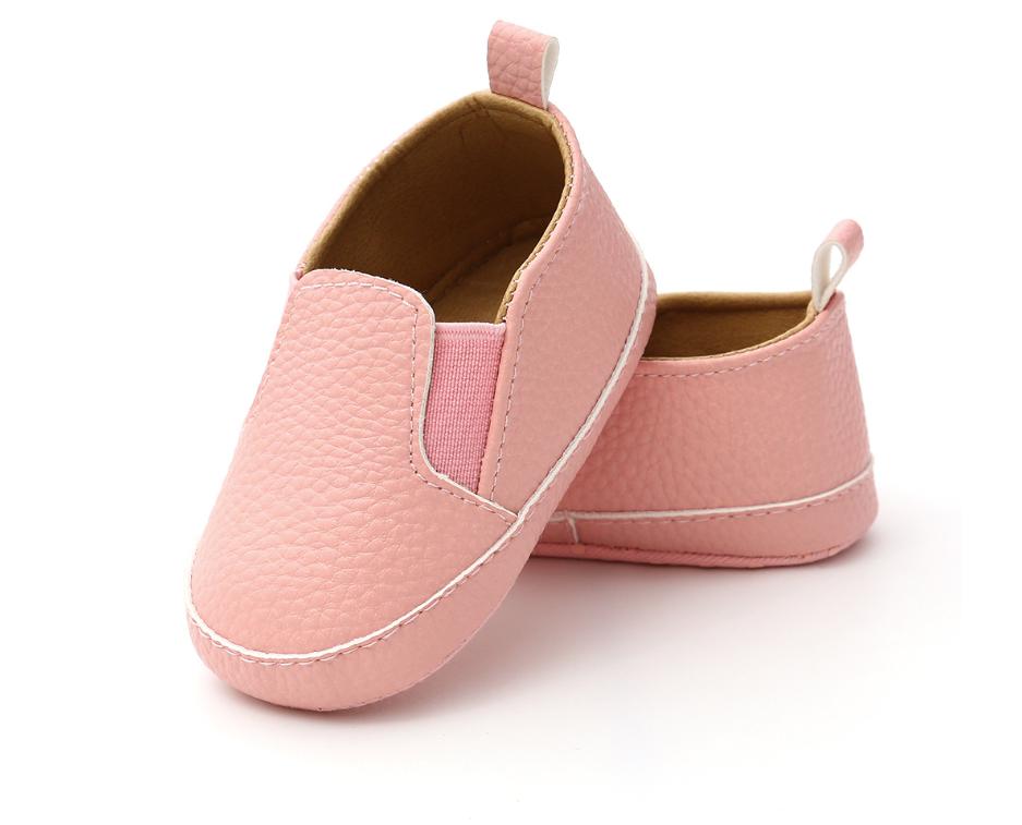 Пінетки-мокасини рожеві з кожзаму пинетки ребенку 12Нет в наличии
