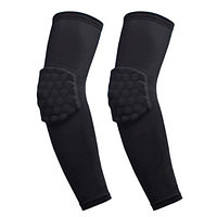 Налокотники баскетбольные 2 шт. Elbow Pads р-р S, M, L, XL, черный (BC-5666)