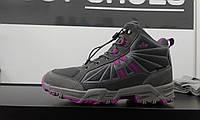LIKO сірі з рожевим (230016) 39, 41, 36, 37, 32, 31, 26, 30 розмір. Оригінал. Жіночі ботинки