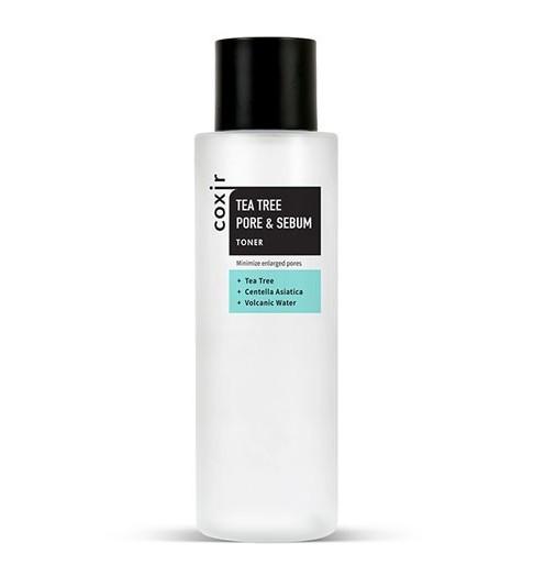 Тонер для жирной кожи Coxir Tea Tree Pore & Sebum Toner