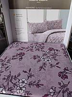 Комплект розового постельного белья Marie Claire Paris Евро Ранфорс Турция