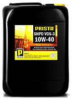 Масло моторное PRISTA SHPD VDS3 10W40 (для грузовых авто) 20л, фото 1