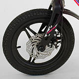 Велосипед детский двухколесный магниевая рама и диски 14 розовый Corso MG-16086, фото 4