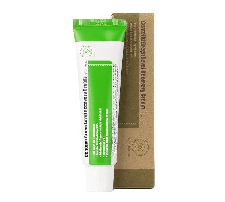 Крем для лица с экстрактом центеллы азиатской PURITO Centella Green Level Recovery Cream