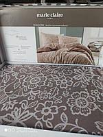 Бежевый комплект постельного белья Marie Claire Paris Евро размера Ткань ранфорс Турция