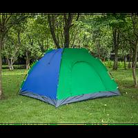 Палатка с автоматическим каркасом двухместная Зеленая палатка №5