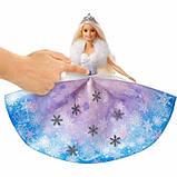 Barbie Барби дримпопия Зимняя магия GKH26 Dreamtopia Winter Magic, фото 3