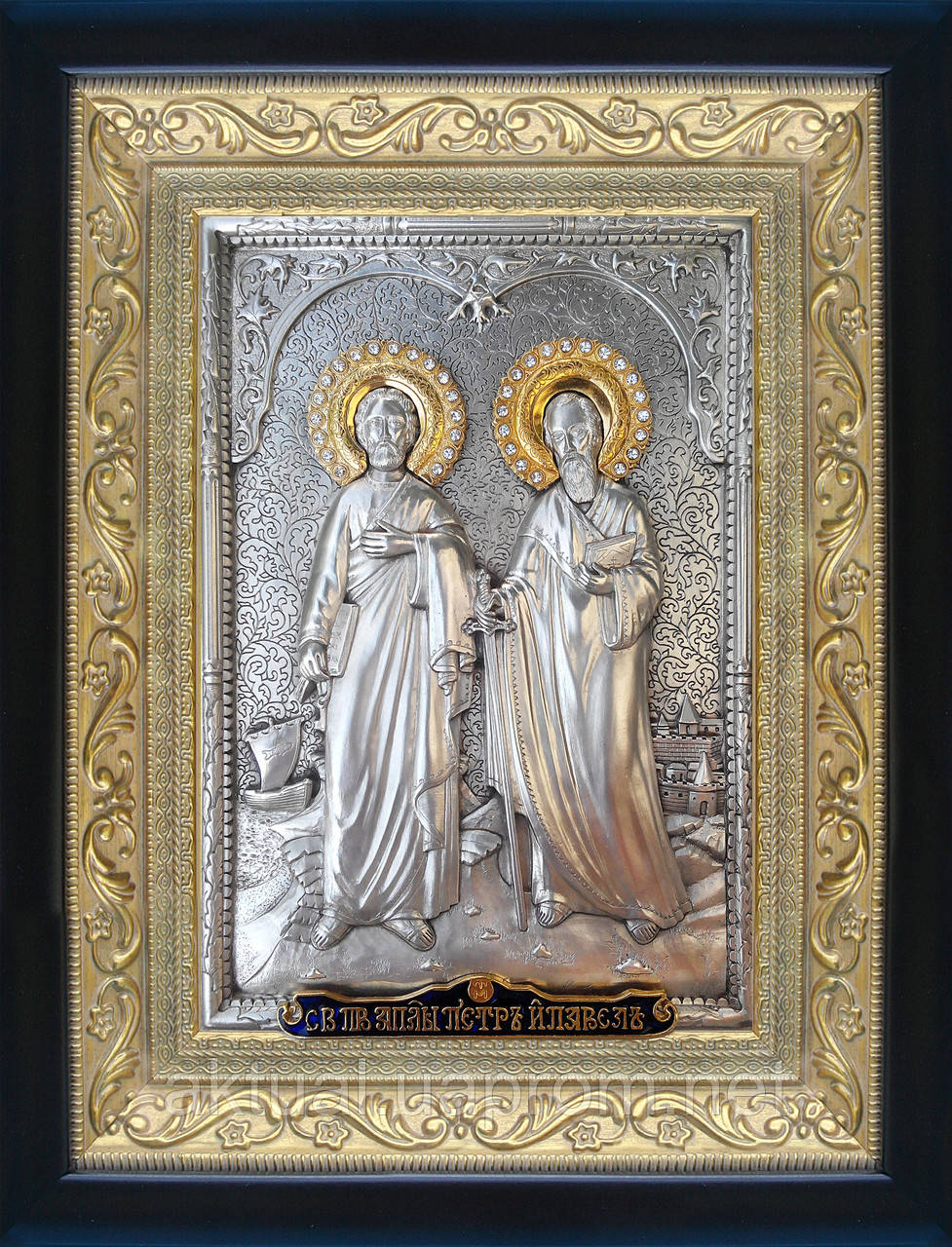 Икона Святые апостолы Петр и Павел