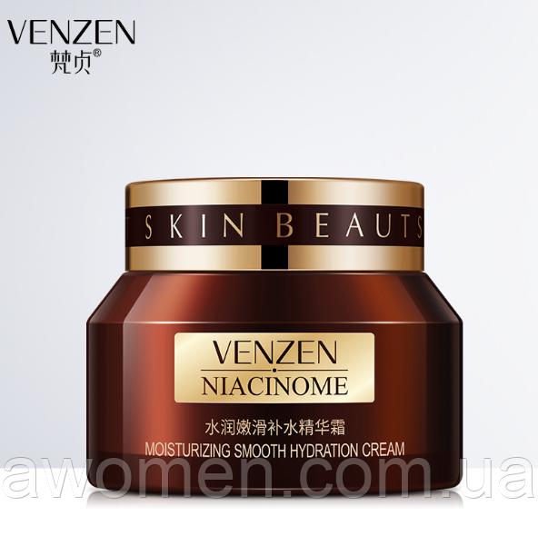 Уценка! Увлажняющий крем для лица Venzen Niacinome Smooth Cream 50 g (мятая коробка)