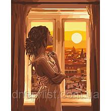 """Картина по номерам """"Золотой рассвет"""", 40х50 см, 3*"""