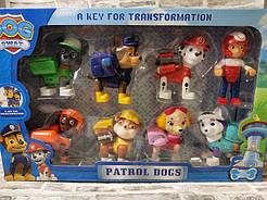 Игровой набор Щенячий Патруль Герои-спасатели (8 в 1) DOG SWAT