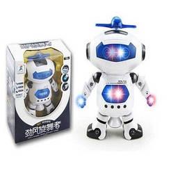 Танцующий светящийся робот Dancing Robot | детская игрушка музыкальный робот! Топ Продаж