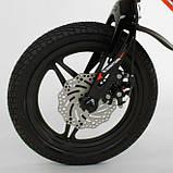 Велосипед детский двухколесный магниевая рама и диски 14 красный Corso MG-66936, фото 4