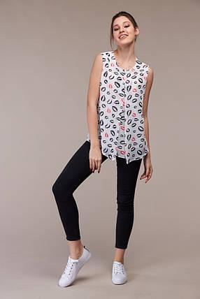 Лёгкая летняя блузка, размер от 44 до 48, фото 2
