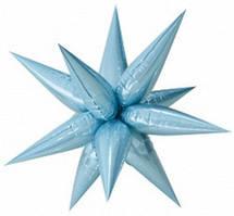 Їжачок бант на коробку блакитний (12234)