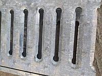Уцененная стальная дренажная решетка Камп, ливневая решетка, водоотводная решетка лучше Стандартпарк Гидролика, фото 1