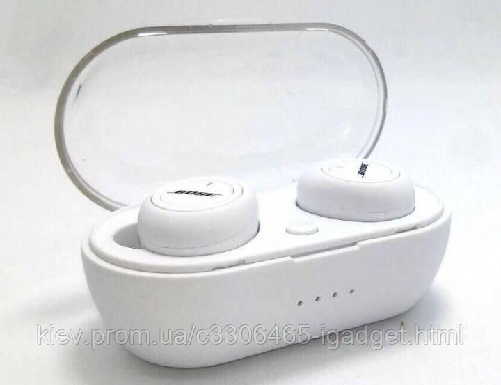 Наушники беспроводные Bose Сенсорные (черные и белые )