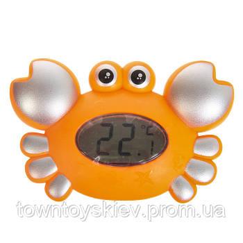 Термометр для ванной Краб 5534, 2 вида (Оранжевый)