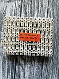 З'єднувач Клемна колодка термостійка, біла, 10 А, 10 мм клемник, фото 2