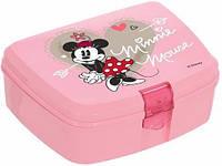 Ланч-бокс Herevin Minnie Mouse 17х12х7 см UK-161277-121psg, КОД: 170809