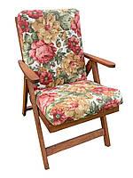Матрас на кресло Кедр на Ливане серия Elit 110x47x11 см Цветы (1025)