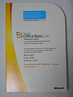 Microsoft Office 2007 Basic UA OEM (S55-02290) поврежденная упаковка