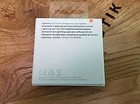 Адаптер (переходник) Apple Lightning A1749 на 3.5mm Headphones, для наушников Original, фото 3