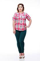 Стильная женская рубашка, размер от 42 до 56, фото 3