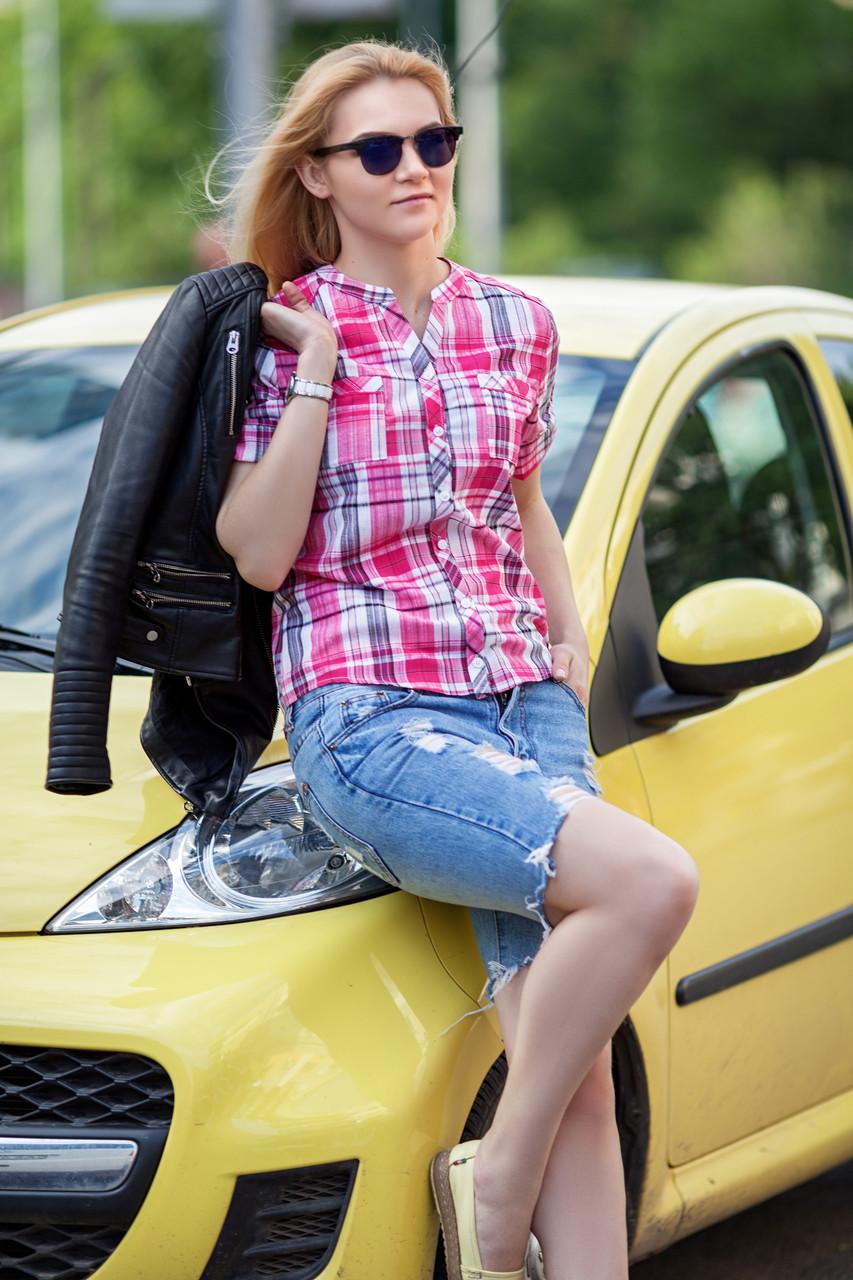 Стильная женская рубашка, размер от 42 до 56
