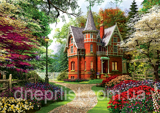 """Пазл 1000 ел. """"TREFL"""" (Польща) / Вікторіанський будинок (10355), фото 2"""
