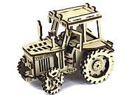 Дерев'яний конструктор Трактор John Deere
