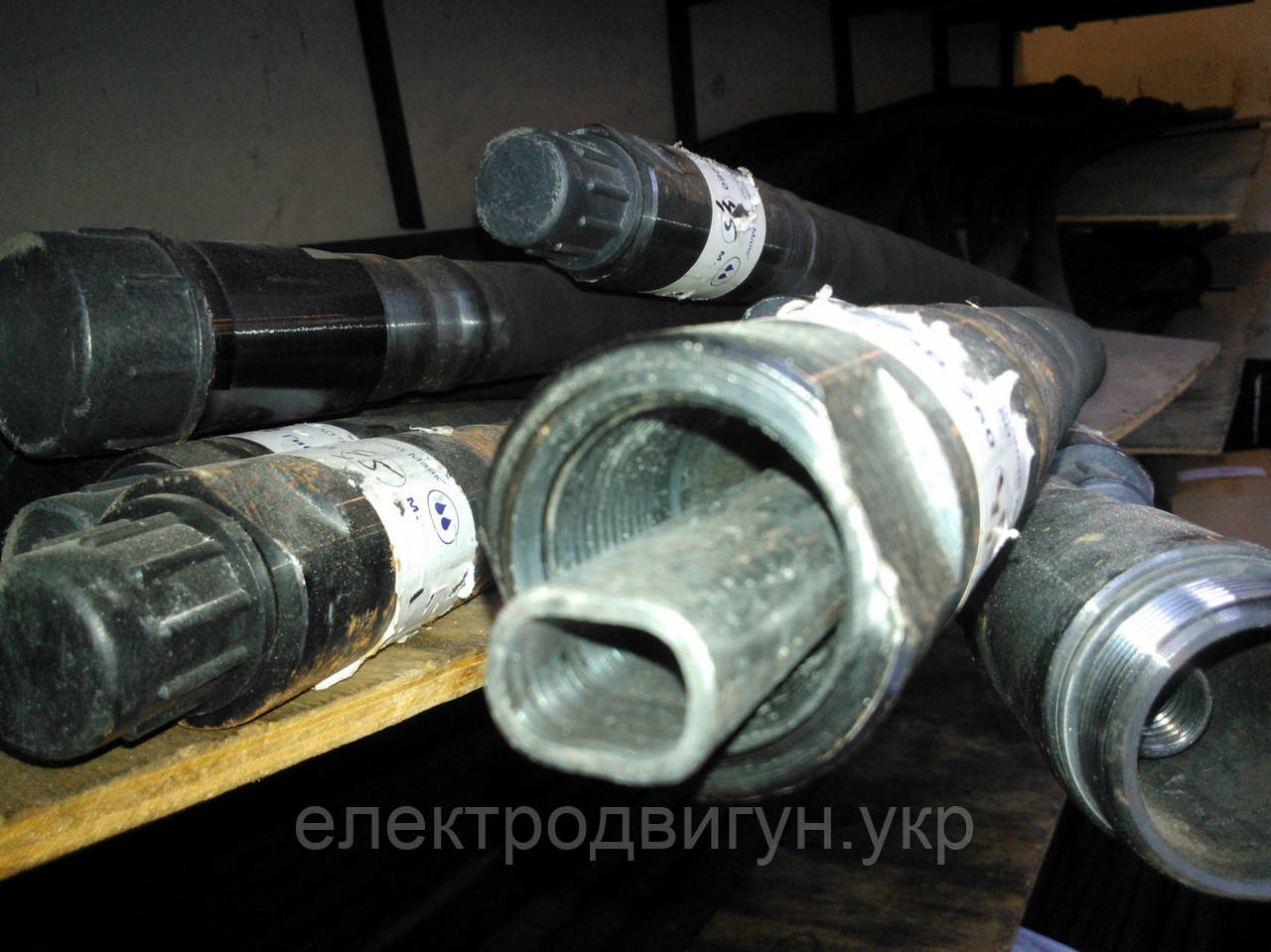 Гнучкий вал глибинного вібратора ЕВ-260.02 (ВС-400) 6м