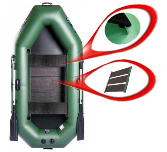Aqua Storm ST260Ps - лодка Шторм 260 с ковриком и передвижными сиденьями