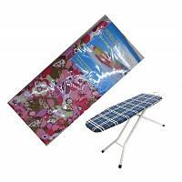 Чехол для гладильнои доски с паралоновой подкладкой (140 * 50см) R84001