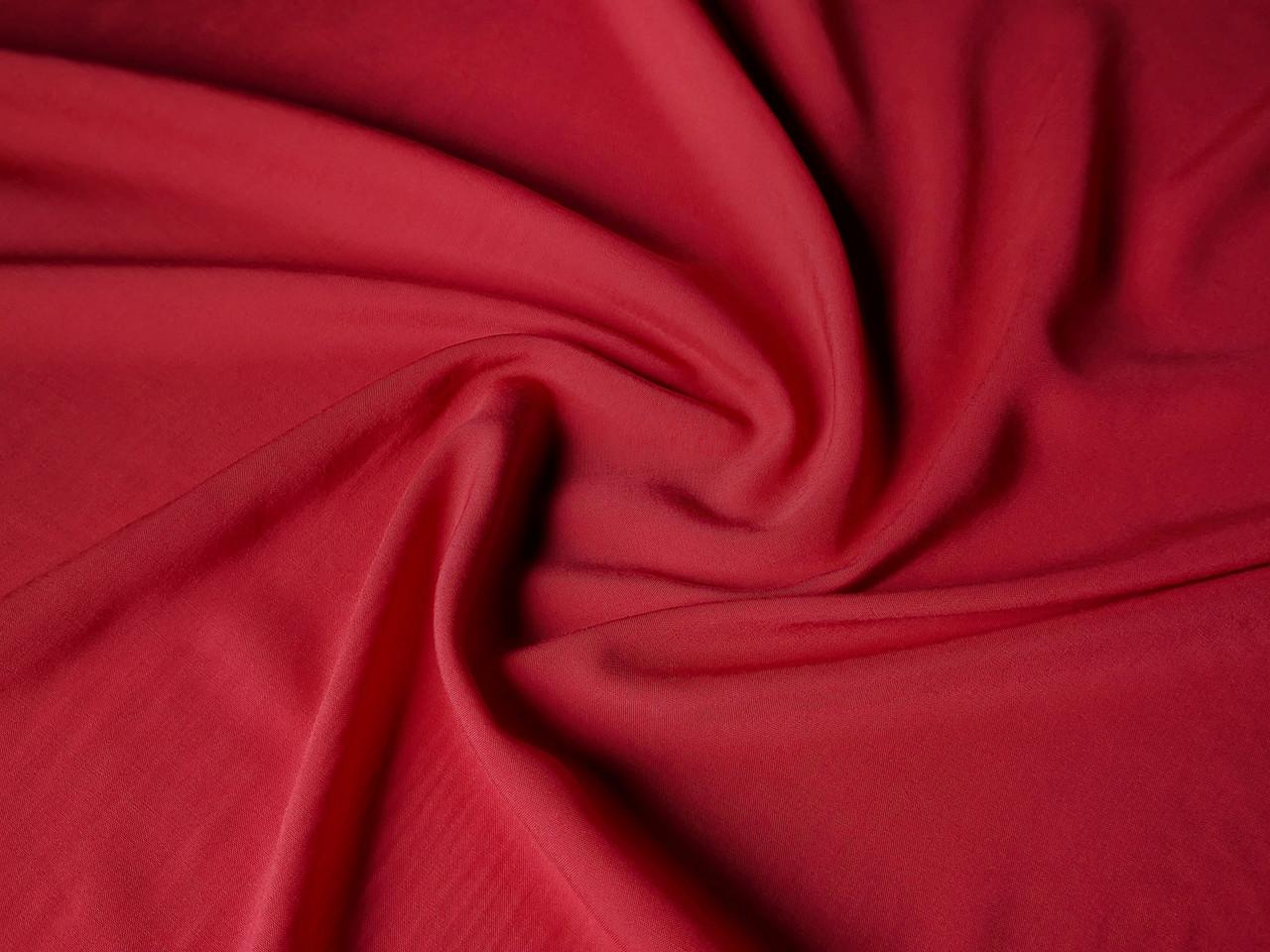 Штапель плотный, красный