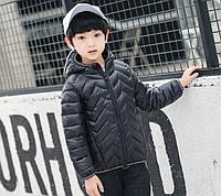 Куртка демисезонная детская Зигзаг, чёрный Berni