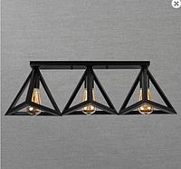 Настенно-потолочный светильник 756XPR220F2-3 BK (500)