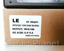 Блок Питания Зарядка для Ноутбука LENOVO 19V 4.74A 90W штекер 5.5 на 2.5 (ОРИГИНАЛ), фото 2
