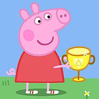 """Набір для капкейків: """"Свинка Пеппа"""" топпери і накладки на кошики (8+8+1+1)-малотиражні видання-"""