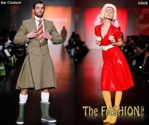 Резиновые сапоги в мире моды