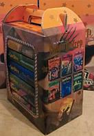 Комплект из 7 книг. Гарри Поттер на русском языке+подарочная коробка