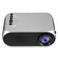 Портативный проектор Projector LED YG-00320 Mini с динамиком Серый