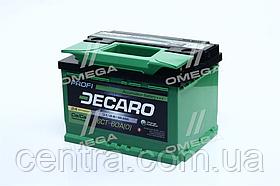 Аккумулятор 60Ah-12v DECARO PROFI (242x175x175),R,EN600 6СТ-60 (0)
